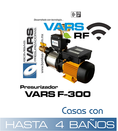 Presurizador VARS F-300i RF