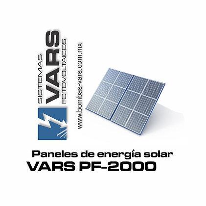 Panel solar VARS PF-2000