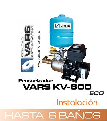 Presurizador VARS KV-600