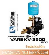 Presurizador de agua VARS KV-3500