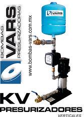 Presurizador de agua alto flujo