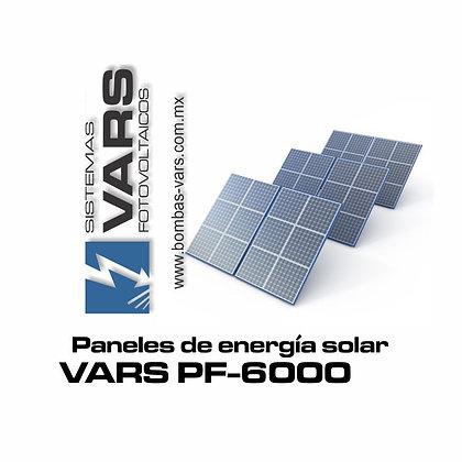 Panel solar VARS PF-6000