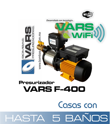 Presurizador VARS F-400i WIFI