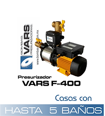 Presurizador VARS F-400