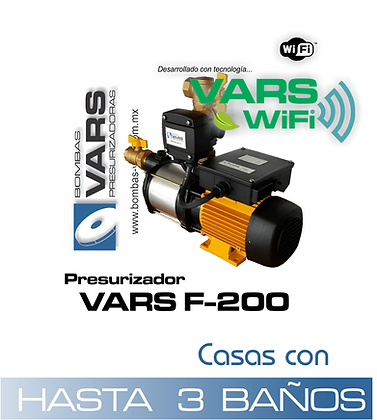 Presurizador VARS F-200i WIFI