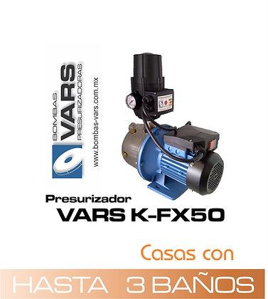 Presurizador VARS K-FX50 (Línea económica)