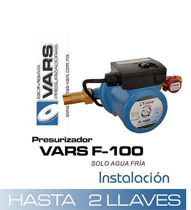Presurizador VARS F-100