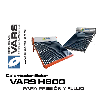 Calentador solar VARS H800 BC