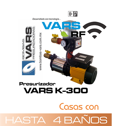 Presurizador VARS K-300i RF