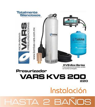 Presurizador VARS KVS-200