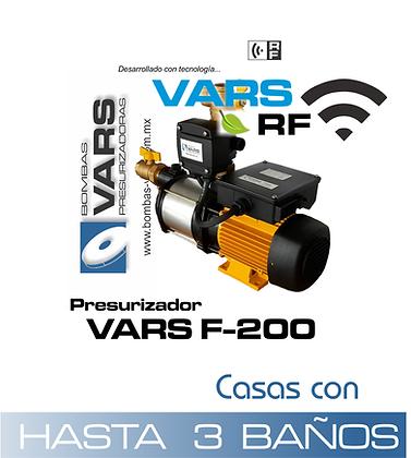 Presurizador VARS F-200i RF