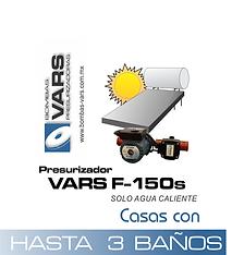 Presurizador de agua VARS F-150s