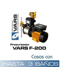 Presurizador VARS F-200