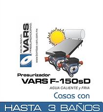 Presurizador de agua caliente VARS F-150sD