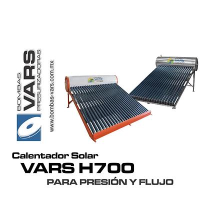 Calentador solar VARS H700 BC
