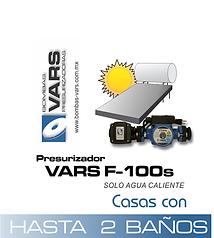 Presurizador de agua VARS F-100s