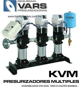 Presurizador de agua múltiple