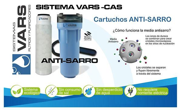 filtro anti sarro