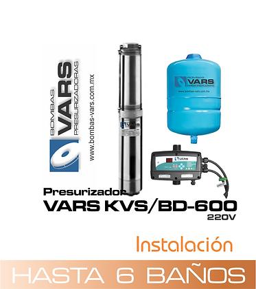 Presurizador VARS KVS/BD-600