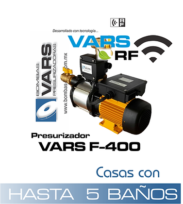 Presurizador VARS F-400i RF
