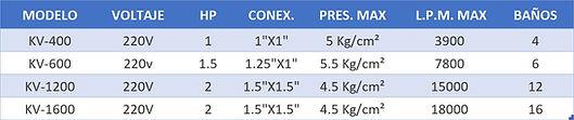 Presurizadores de agua velocidad variable