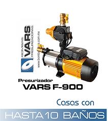 Presurizador VARS F-900