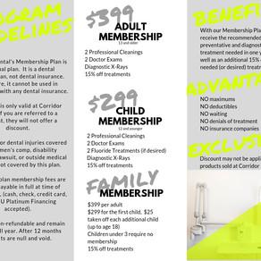 Introducing: Dental Membership Plan