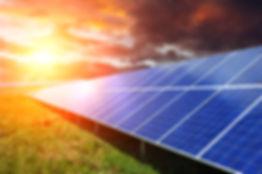 Solar panel produces green, environmenta