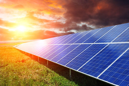 Solar panel produces green, environmenta