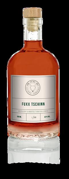 Flasche Fuxx Tschinn Gin Wacholder Alternativ Ökologisch Handarbeit