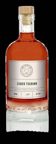 Flasche Zuber Tschinn Gin Wacholder Alternativ Ökologisch Handarbeit