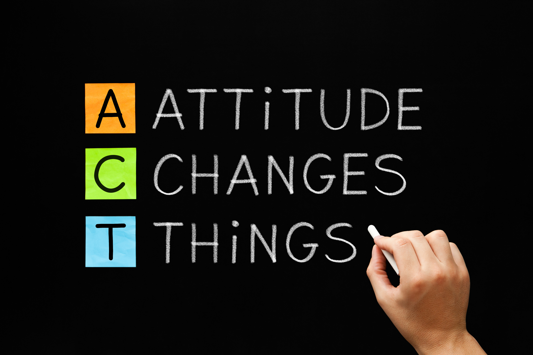 Attitude Changes Things