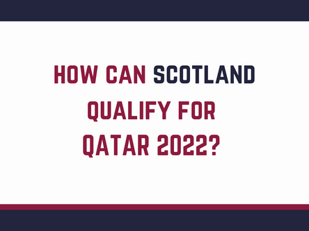 how can Scotland qualify for qatar 2022?