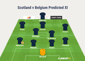 PREVIEW: Scotland v Belgium + Playoff Picture