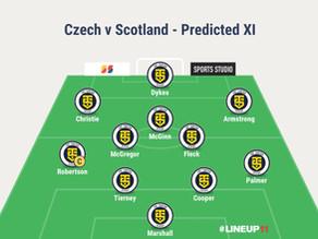 Preview – Czech Republic v Scotland