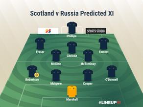 PREVIEW: Scotland v Russia – Euro 2020 Qualifying