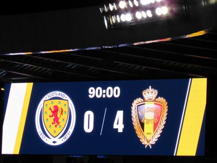 REVIEW: Scotland 0-4 Belgium - Euro 2020 Qualifying