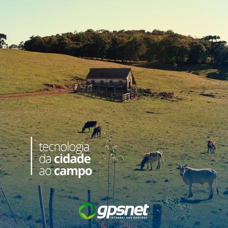 Conectividade Rural leva internet a milhares de famílias!