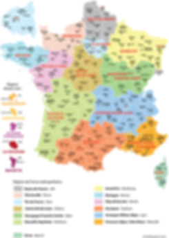 FNEJE, Educateurs de jeunes enfants, carte, france