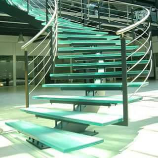 Fancy  stair partition