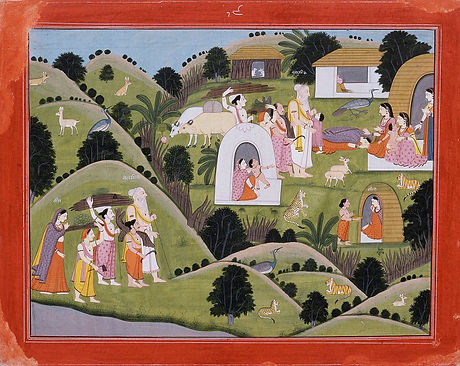 Hermitage_of_Valmiki,_Folio_from_the__Na
