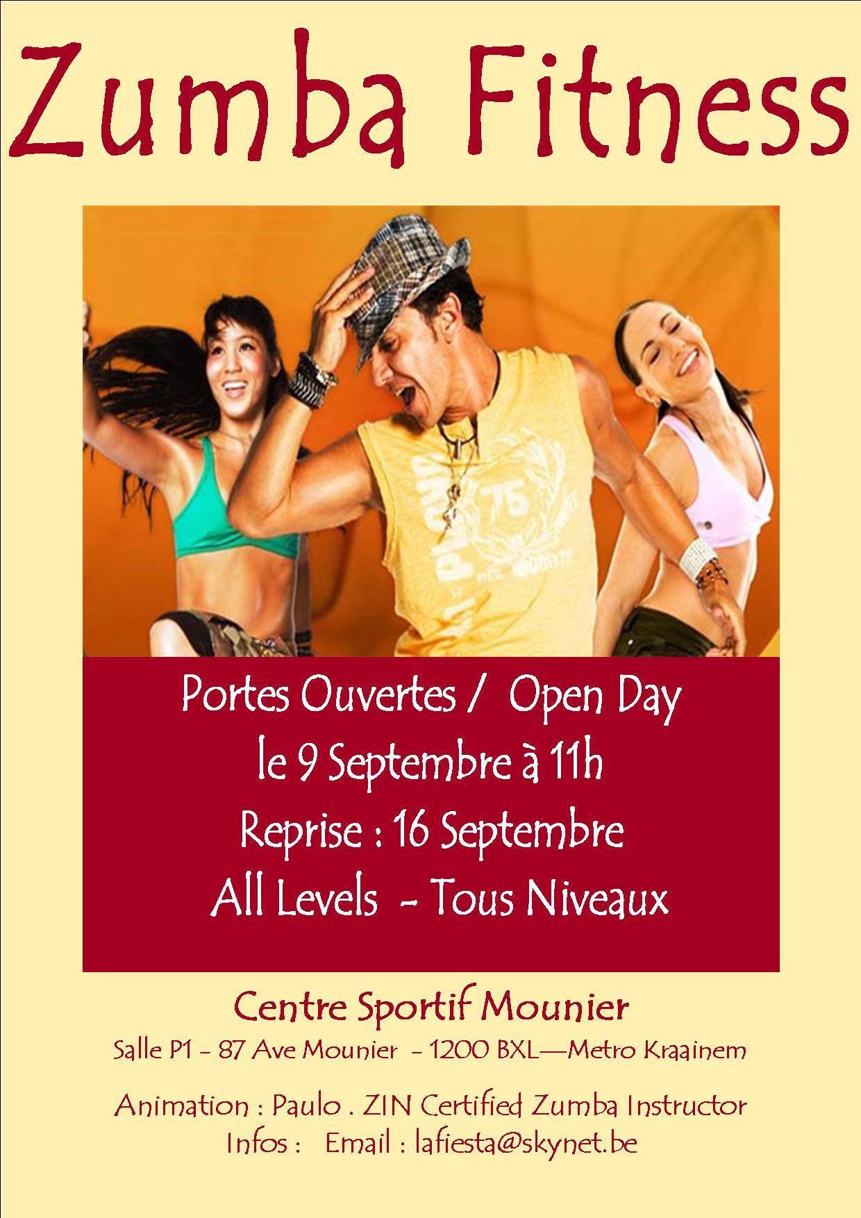 Zumba Open Day Sunday