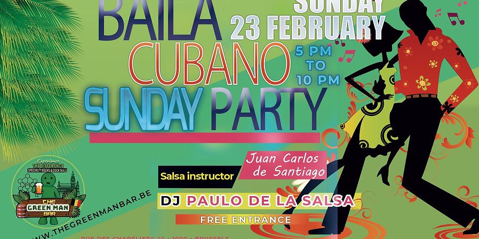 Baila Cubano Sunday