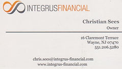 bus card - integrus financial (christian