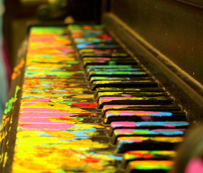 Using Natural when learning how to play piano