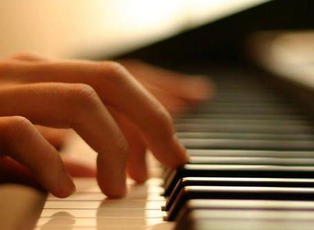 Traditional piano lessons taught online