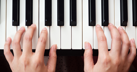 Learn how to play chords with Online Piano Lessons with Matthew Clayton