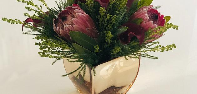 Valentine's Day Tropical Floral Arrangement