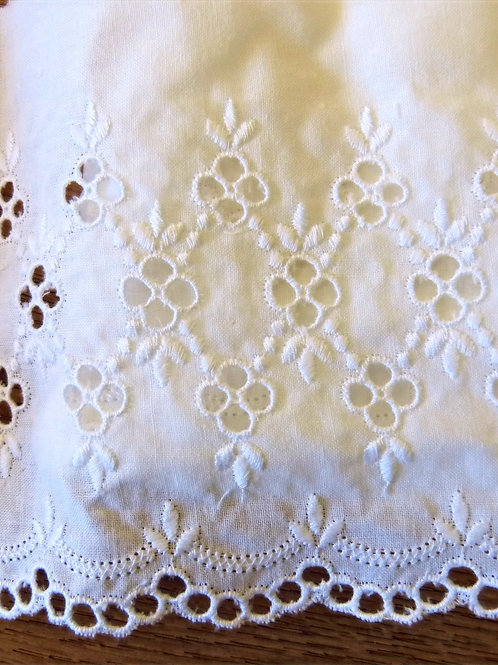 Broderie anglaise 120mm