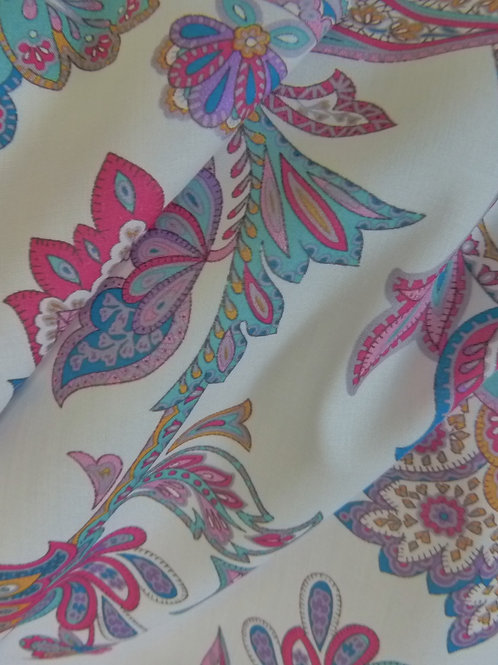 Tissu motif cachemire